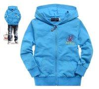 child boy girl's brand Hoodies Sweatshirts jacket shirts coat baby wear outfit clothing green blue black free shipping