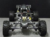 30.5CC black alloy baja