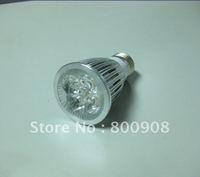 promotion price/free shipping/20pcs/lot/e27/4*1w/good quality/led spot light lamp