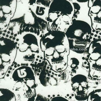 Skulls Pattern Water Transfer Printing Hydro Graphics Film width 100cm GWA9-2