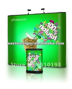 3x4 Straight PVC Tradeshow Pop Up Display Stand