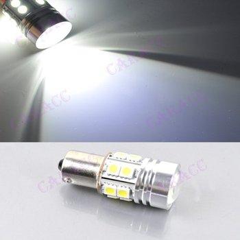 New 1156 BA15S 7W CREE Q5 LED Reverse Lamp SMD 5050 Wedge Turn Tail Brake Light Bulb White DC12V-30V 4469