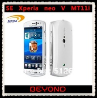 Sony Ericsson Xperia Neo V MT11i original unlocked SE MT11i 3G GSM WIFI GPS 5MP Android mobile phone dropshipping