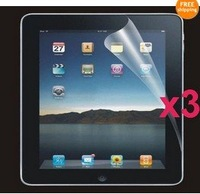 3X New CLEAR Screen Protector Guard Flim For LCD Apple iPad 2 2nd 2Gen FREE P&P