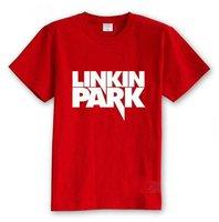 Free shipping -  Mens Man Man's Linkin Park Fans Speically Gear / Dress 5 Colors to Choose Cheap Causal Short T shirts 848