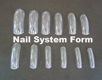 Professional  Nail System Form for UV Acrylic Nail Art Tip 300 pcs / box
