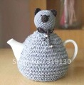 Free Shipping---Stylish Hand Made Knitted Little Bear Tea Cosy