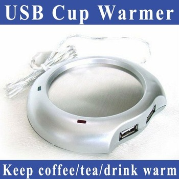 Free Shipping USB Cup Warmer keep your coffee/tea/drink warm