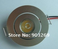 Discount +100PCs TH01/02 1W 1LED Ceiling Down Light 90 LM DC 85V -265V Warm White/White Ceiling Light