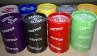 Free Shipping colorful trick paint slime,prank barrel slime paint,movie property,All fool&#39;s Day Halloween gag tricky toys