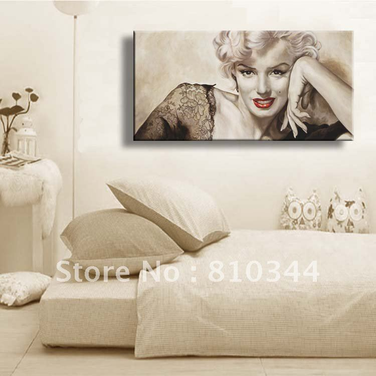 Marilyn Monroe Bedroom Decorations