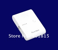 Free Shipping/ Large Capacity 12000Mah Portable Power Bank, External Battery Charger Power Bank