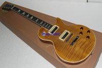 (free shipping)Slash Yellow Electric Guitar china factory supplier