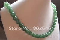 Certified wonderful Grade A Natural Burmese Emerald Jadeite necklace best gift for mother or wife or girlfriend  Free Shipping