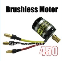 5pcs/lot KV3680 rc electric brushless motor for trex450 brushless outrunner motor with 13T gear