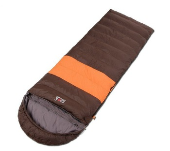 2012 New Chinese Brand Outdoor Envelope Duck Down Sleeping Bag