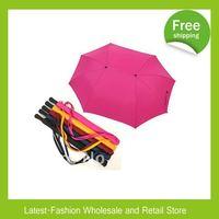 Factory Wholesale+DHL Free Shipping 10pcs/lot Fashion Colorful folding Lovers umbrella / double umbrella / Sun Umbrella