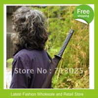 Factory Wholesale+DHL Free Shipping+Wholesale 30pcs/lot Japanese Samurai Swords Umbrella Katana Umbrellas Creative Umbrellas