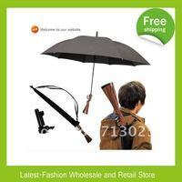 DHL Freeshipping+Wholesale New Coming Cool Umbrella, Rifle Umbrella, Gun Umbrella, comes with carry bag for gifts(10pcs/lot)