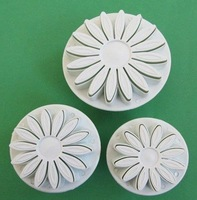 Wholesale ,3pcs /set Cake Cookie Press Print Sun flower spring Moulds, Toast Bake Bakery Tools free shipping