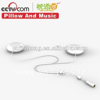Portable stereo speaker for music pillow