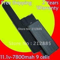 Laptop Battery For Dell Latitude D620 D630 D630c Precision M2300 312-0383 312-0386 451-10297 451-10298 JD634 PC764 TC030