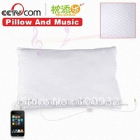 sound speaker pillow with cotton cover for iphone & ipad
