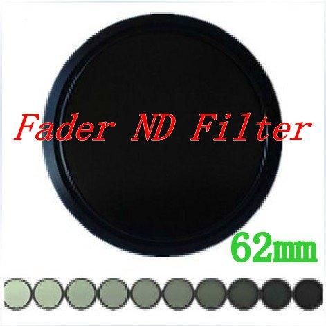 Фильтр для фотокамеры 62 mm Fader ND Filter Neutral Density ND2 to ND400 With Tracking Number