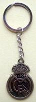 Real Madrid FC Soccer Bronze Keyring Keychain Key Ring Chain