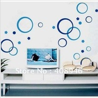 120177 Wall sticker 30pc/lot / fridge magnet / round stickers / free combination  wall stickers