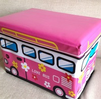 2012 school bus storage box bus stool PU storage box space saver Stool