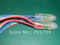 IP68 DC12V input 12mm led string light;RGB color;100pcs a string
