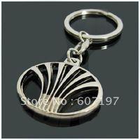 30pcs Deawoo  high quality fashion hollow metal key chain car friend keychain keyring keyrings automobile auto keychain gift box