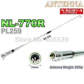 NL-770R DUAL BAND mobile 144/430Mhz original  Antenna SMA-MALE NAGOYA Aerial NL770R
