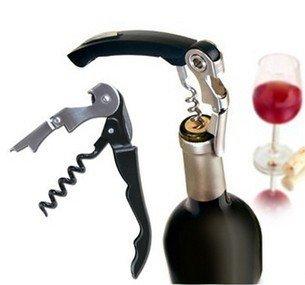 Free Shipping Hot Waiter's Wine Tool Bottle Opener Sea horse Corkscrews Knife Pulltap Double Hinged