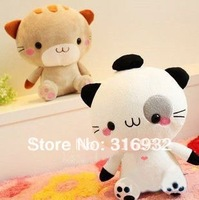 J1 Super cute cutie mineco cat big face cat plush toy two colors to choose 32cm 1pc