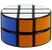 LanLan 2x3x3 Pie-Shape Round Column Speed Cube Black Magic Cube Puzzle