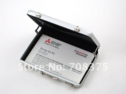 10pcs/lot 2012 New password Cipher box Aluminium Credit Card Holder Name Card Visiting cards Free Shipping(China (Mainland))