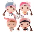 Free shipping super cute lovely Metoo cartoon plush doll child portable small messenger bag kid girl toy gift