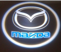 wholesale mazda led door light logo auto led decoration lamp laser light free ship