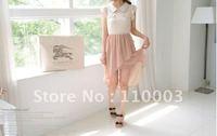 Elegant Chiffon Skirt DressA128