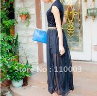 Characteristics of Dress Chiffon Skirt DressA140