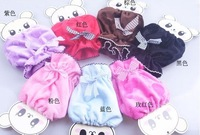 Free shipping new fashion lovely bow children oversleeve ,7 colors baby P.T
