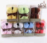 Promotion 20pcs/lot ,100% Cotton towels,Cake towel,gift towel cake! FREE SHIPPING