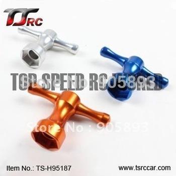 Free shipping!R/C racing car   Baja metal parts , CNC metal wheel wrench (95187)