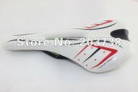 Road MTB Mountain Bike SADDLE SEAT White/Black Bike Bicycle seat saddle Parts accessories Free shipping