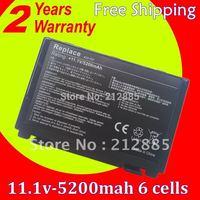 Laptop Battery For ASUS K70 K70IC K70IJ K70IO P50 P81 X50 X5C X5D X5DIJ-SX039c X5E X5J X65 X70 X8B X8D A32-F52 A32-F82 L0690L6