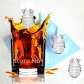 Creative Atomic shape ice mold/Fashion Atomic shape ice tray, 2pcs/lot