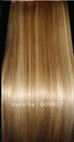 100% remy human hair weaving straight  hair weft high quality