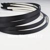 Free Shipping  5mm Black Satin Metal Hair-Band Head Band Handcraft Materials